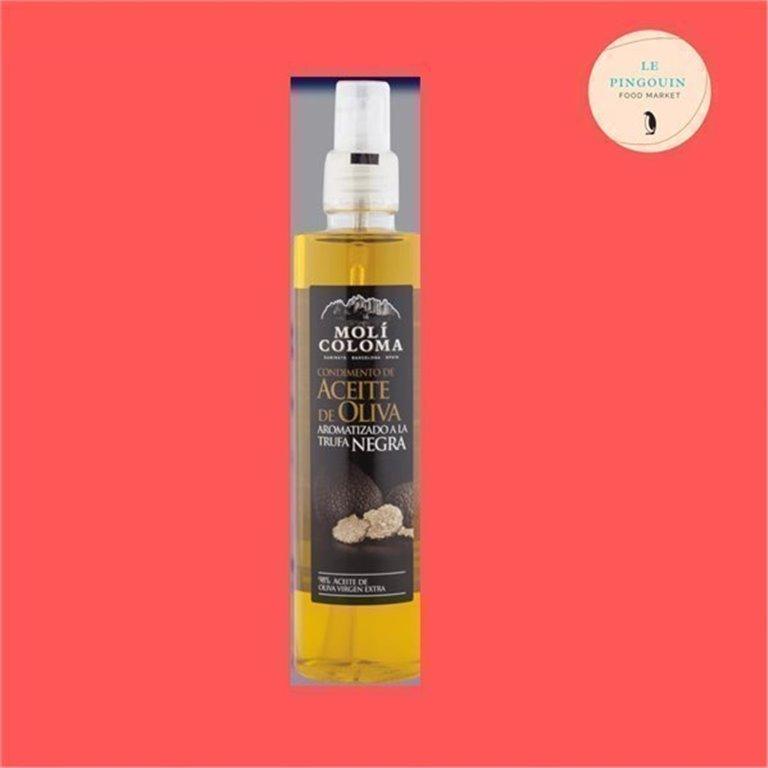 Molí Coloma aceite de oliva con trufa negra spray 250ml, 0,25 l