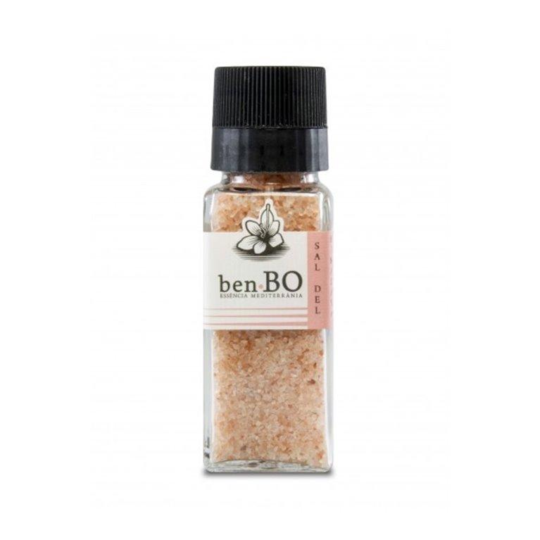 Molinillo de Sal Rosa del Himalaya Benbo 120 gr, 1 ud