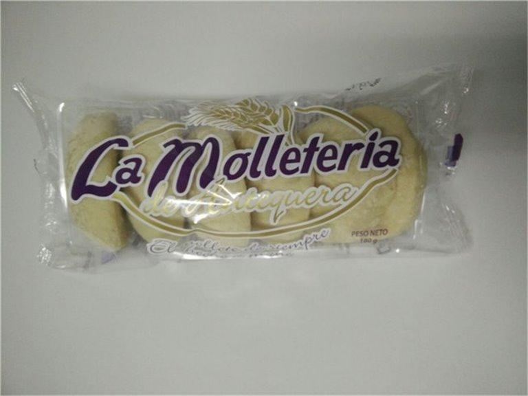 Molletes tradicionales pequeños, 90 ud