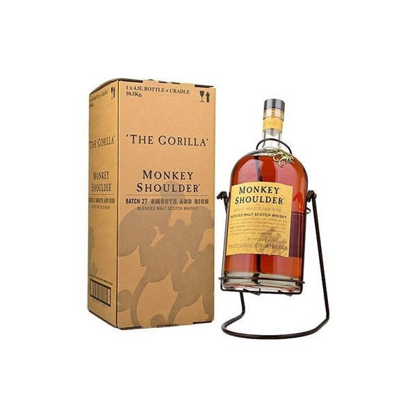 MONKEY SHOULDER GORILLA - CRADLE 4,50 L.