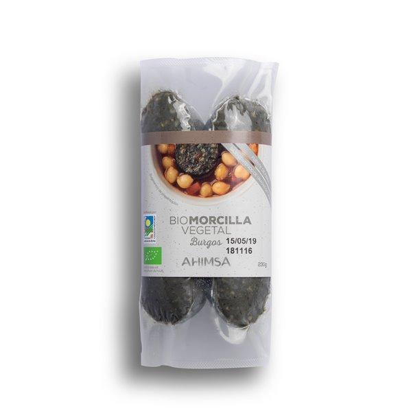 Morcilla Burgos Vegetal Bio Ahimsa, 230 gr