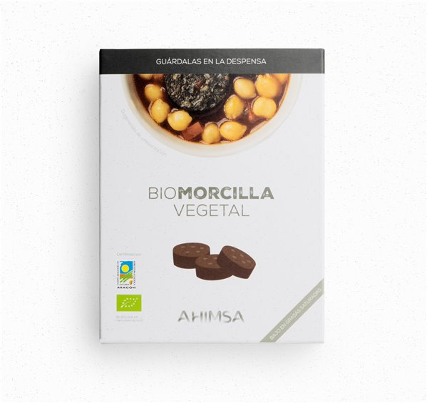 Morcilla Vegetal Bio Ahimsa, 230 gr