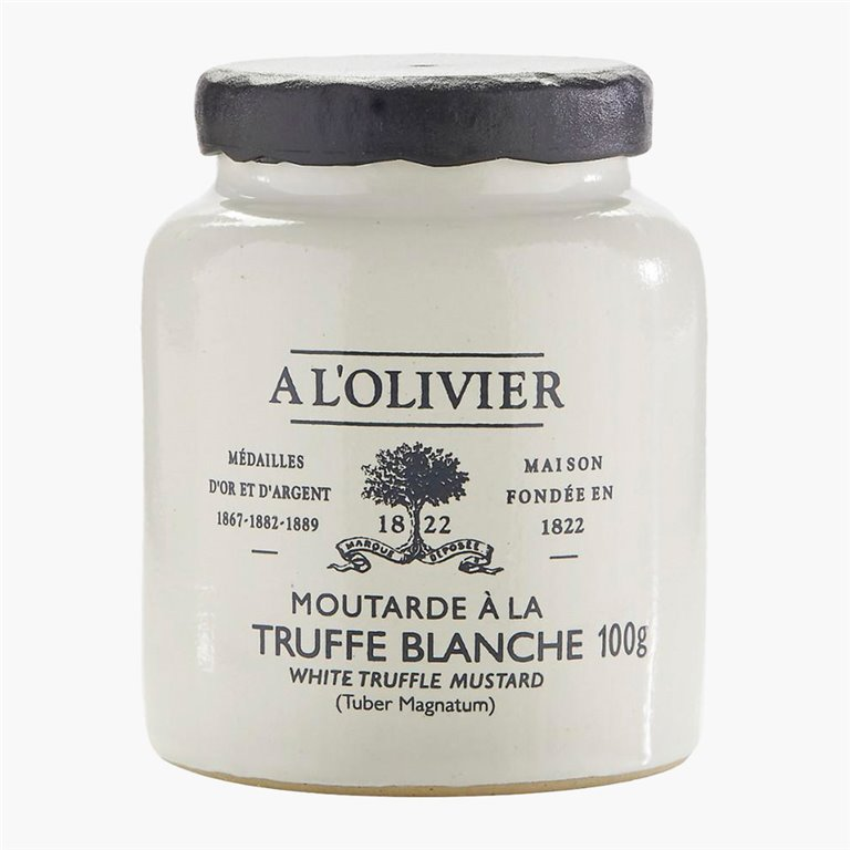 Mostaza a la trufa blanca 100 g A l'Olivier