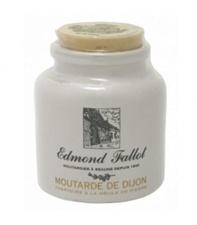 Mostaza Dijon (cerámica) 250gr. Edmond Fallot. 12un.