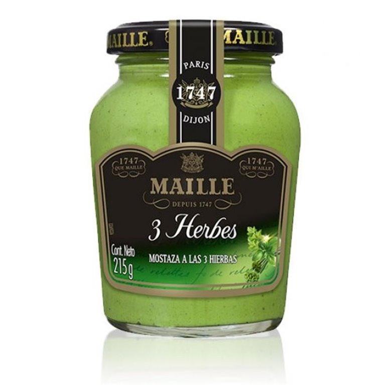 Mostaza Maille a las 3 Hierbas