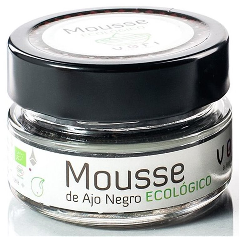 Mousse de Ajo Negro Ecológico VORI (tarro de cristal 75 gr)