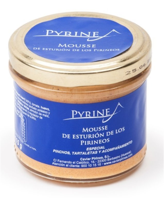 Mousse de esturión Pyrinea