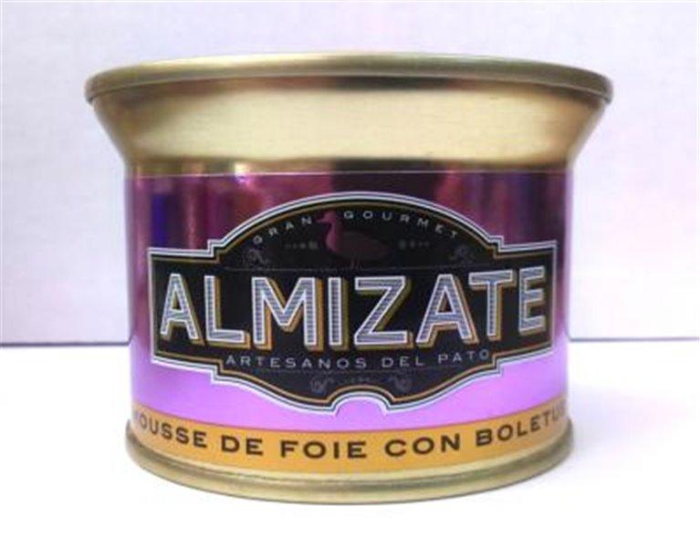 Mousse de Foie Gras con boletus Almizate, 1 ud