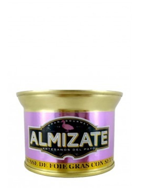 Mousse de Foie Gras con setas Almizate