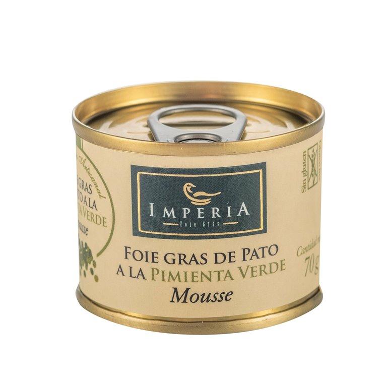 Mousse de Foie Gras de Pato a la Pimienta Verde, 1 ud