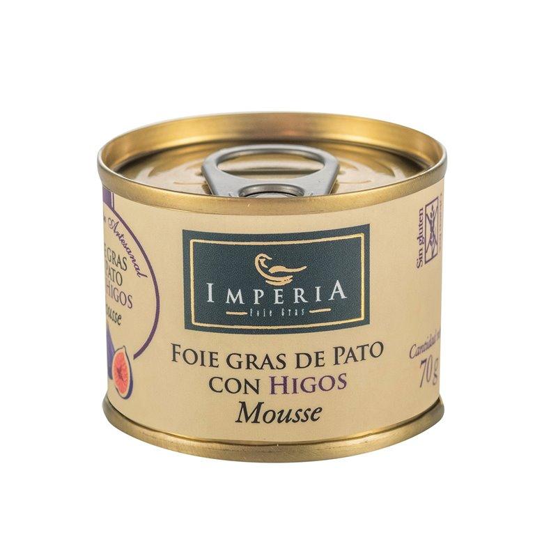 Mousse de Foie Gras de Pato con Higos, 1 ud
