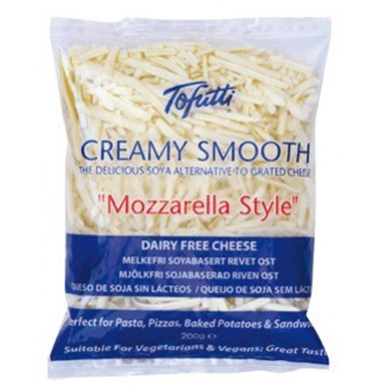 Mozzarella vegana rallada, 1 ud