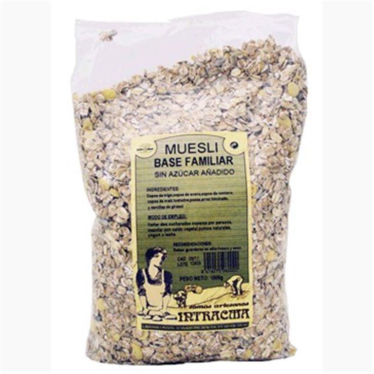 Muesli Base (Sin Azúcar) 1kg