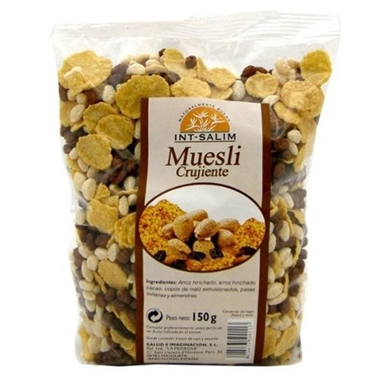 Muesli Crujiente con Cereales Inflados 150g