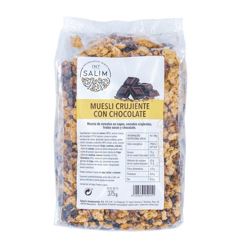 Muesli Crujiente con Chocolate 375g