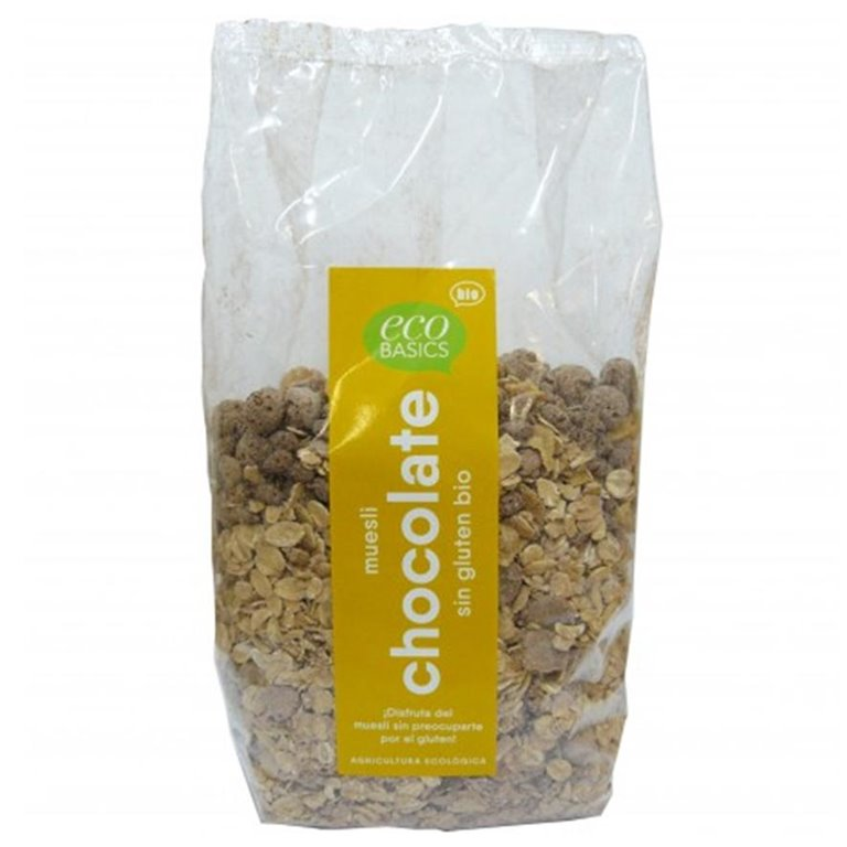 Muesli de Avena con Chocolate Sin Gluten Bio 500g