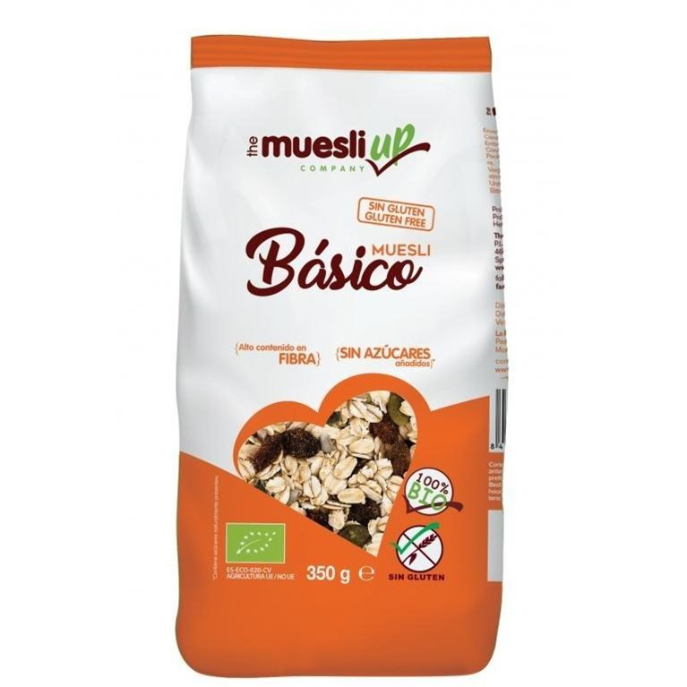 Muesli de Avena (Sin Azúcar) Sin Gluten Bio 350g, 1 ud