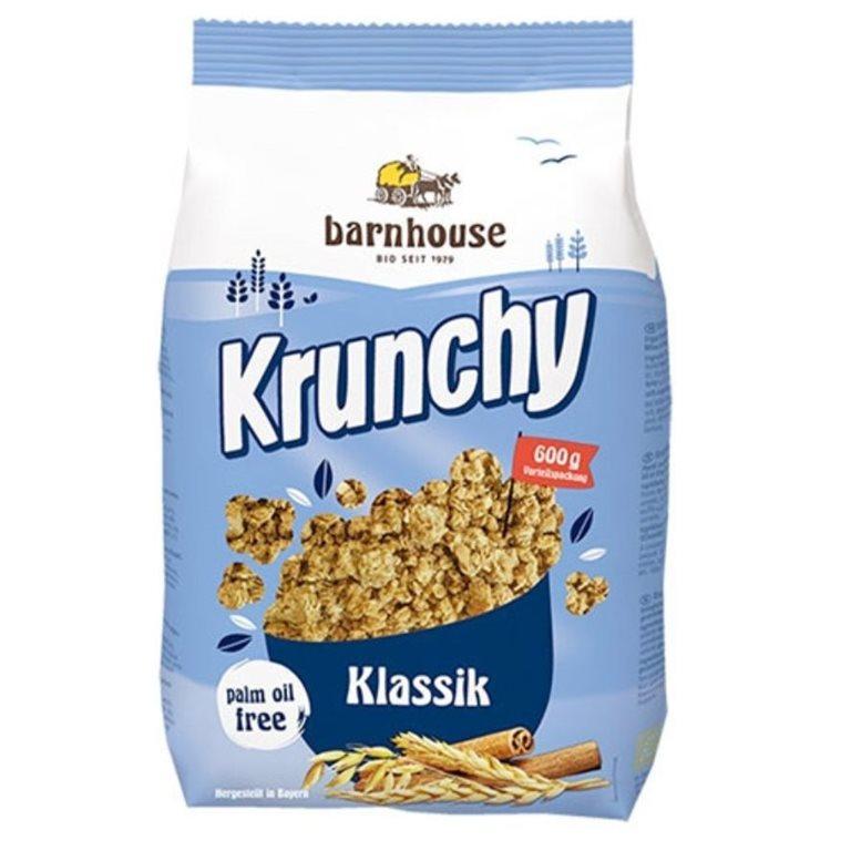 Muesli Krunchy Classic Bio 600g