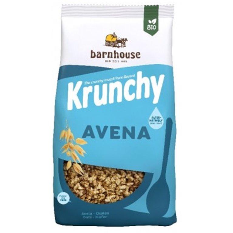 Muesli Krunchy Sun Avena (Sin Azúcar) Bio 375g