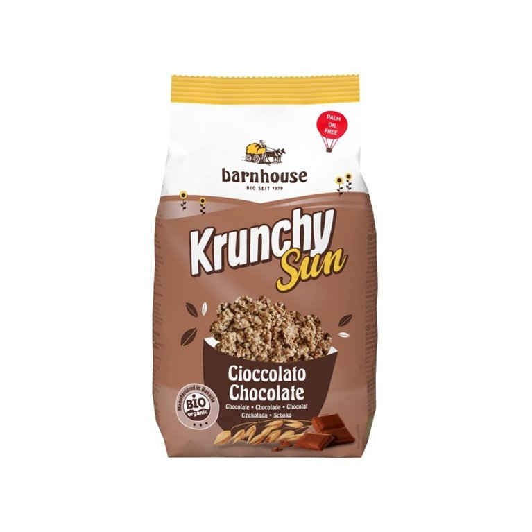 Muesli Krunchy Sun Chocolate Bio 375g