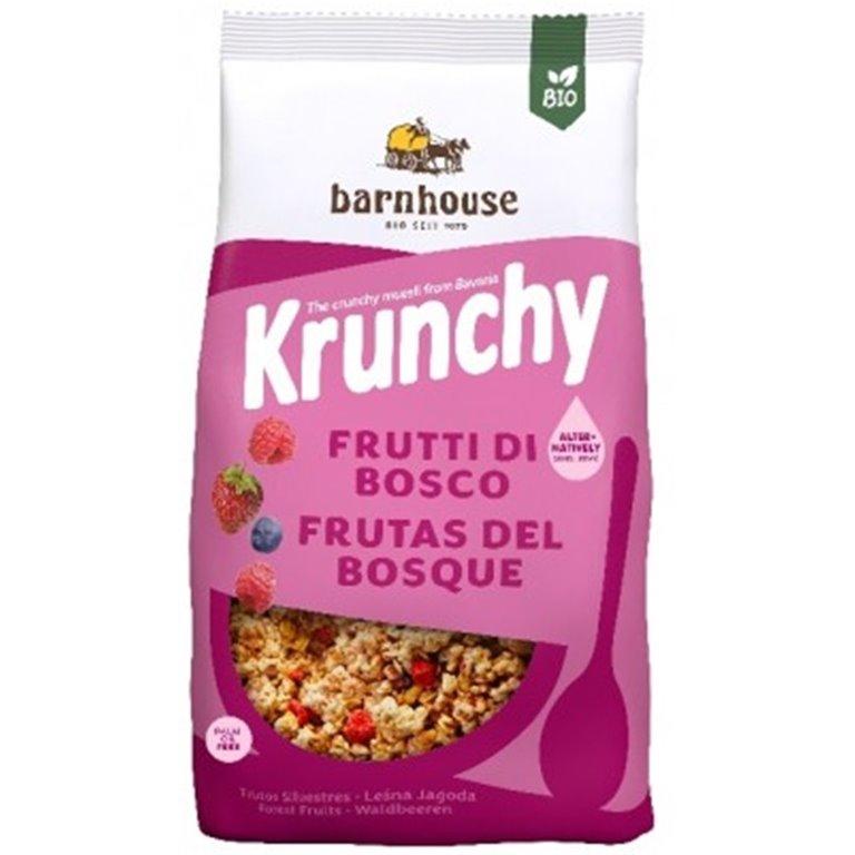Muesli Krunchy Sun Frutas del Bosque (Sin Azúcar) Bio 750g