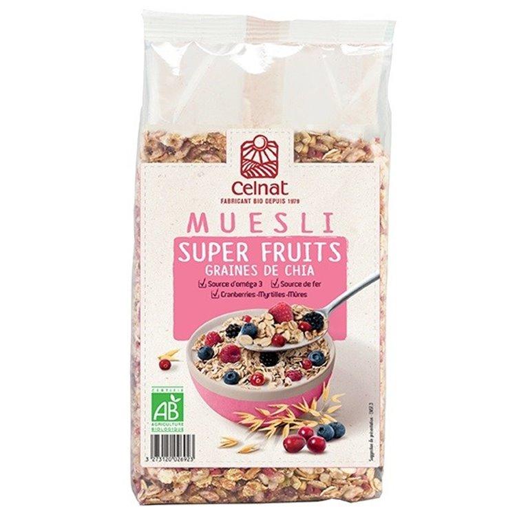 Muesli Superfruits con Chía Bio 375g