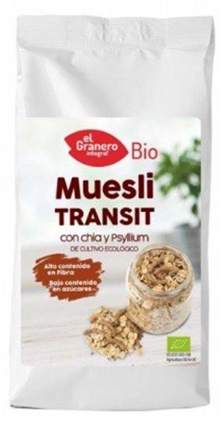 Muesli Transit con Chia y Psyllium Bio 500g