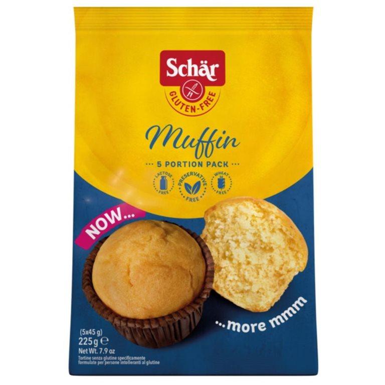 Magdalenas (Muffins) de Vainilla Sin Gluten 185g, 1 ud