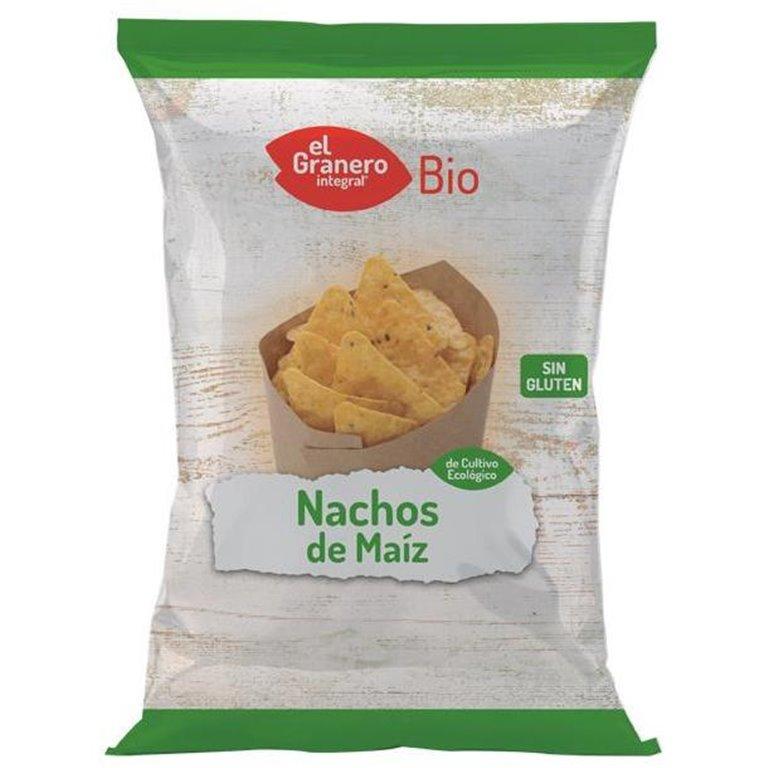 Nachos de Maíz Natural Sin Gluten Bio 125g