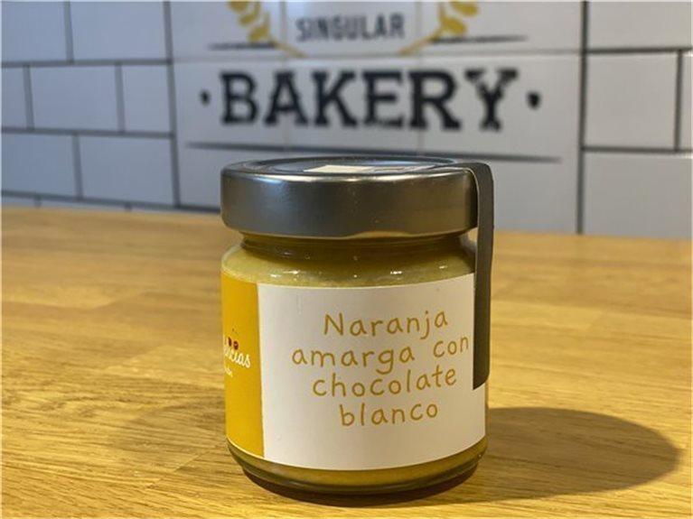 Naranaja amarga con chocolate blanco - Mermelicias de Gredos