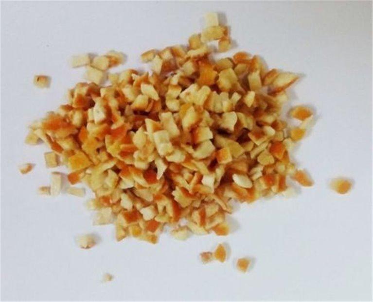 Naranja deshidratada con piel, bandeja 250 gramos., 1 ud