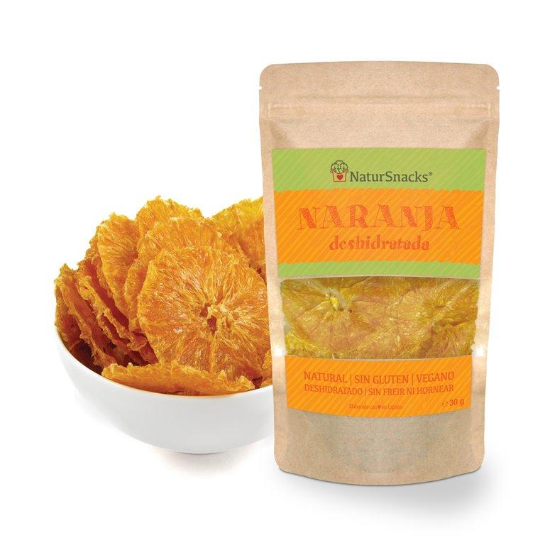 Naranja deshidratada natural sin piel