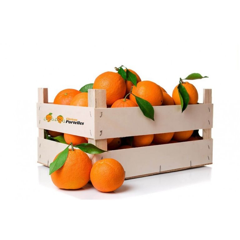 Naranja ecológica - caja 10kg