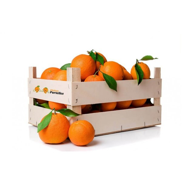 Naranja ecológica - caja 15kg