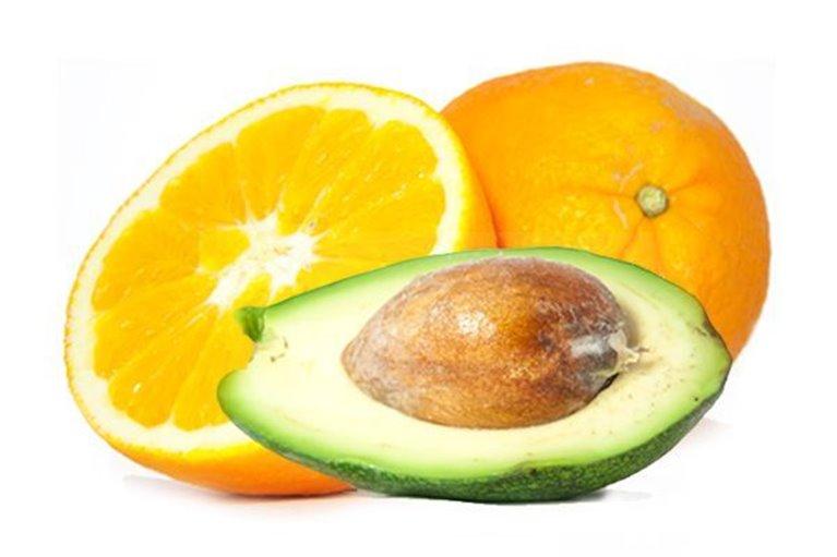 Naranjas de mesa y Aguacates
