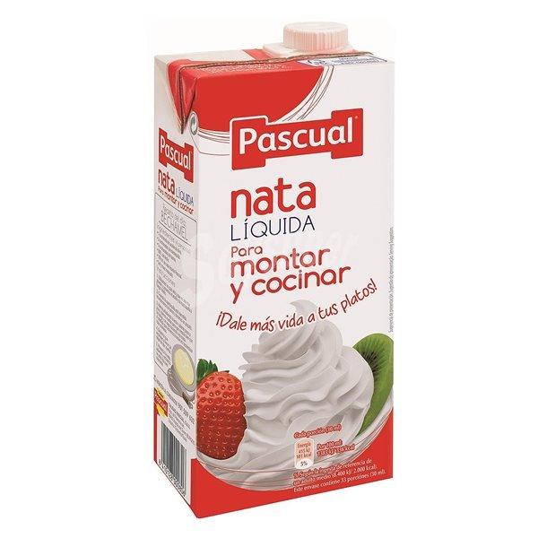 Pascual - Nata líquida para montar y cocinar (500ml)