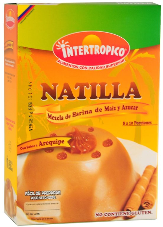 NATILLA DE AREQUIPE INTERTR 400GR