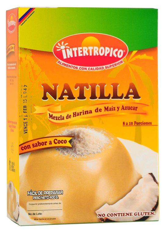 NATILLA INTERTROPICO COCO 400GR
