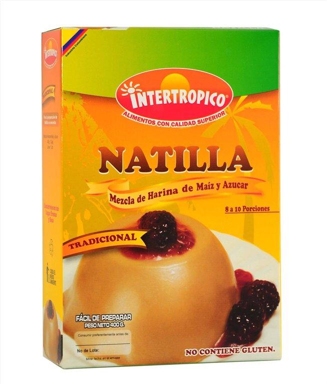 NATILLA TRADICIONAL INTERTROPICO 400GR