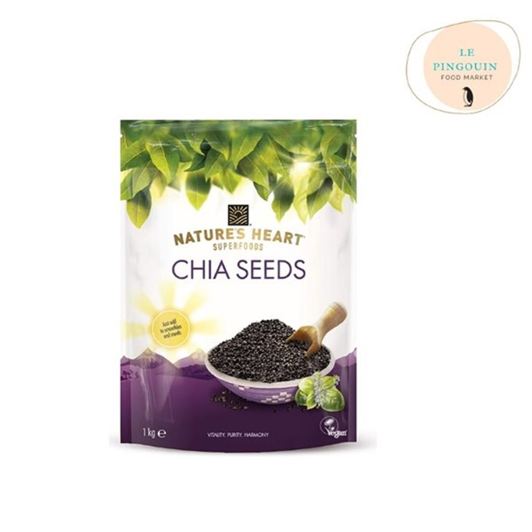 Nature's heart. Semillas de chia 1kg