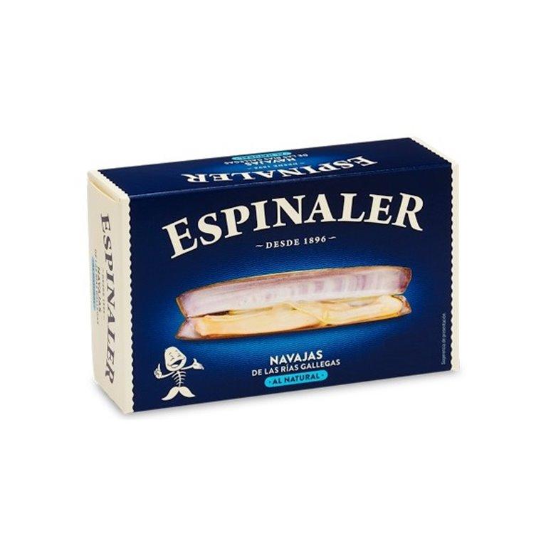 Navajas al natural de las Rías Gallegas 5/8 piezas Espinaler, 1 ud