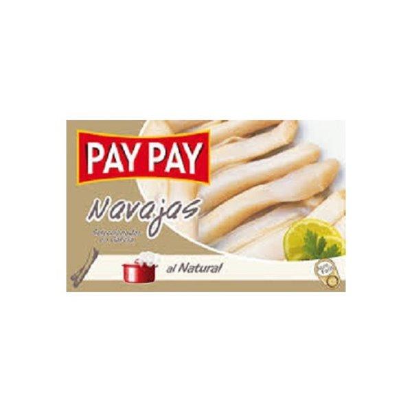 Navajas al Natural Pay Pay 6/8 Piezas