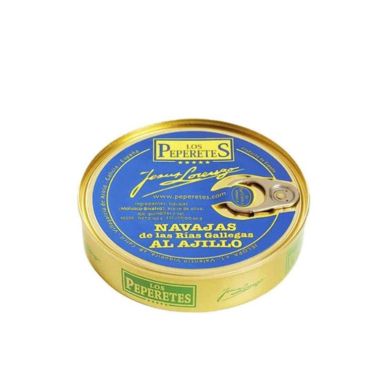 Razor-Shells of the Galician Rías Gallegas with Garlic 120 Los Peperetes