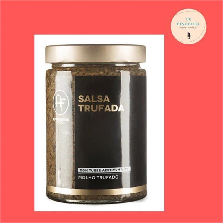 Negrini salsa con trufa y aromas 500gr, 0,50 l