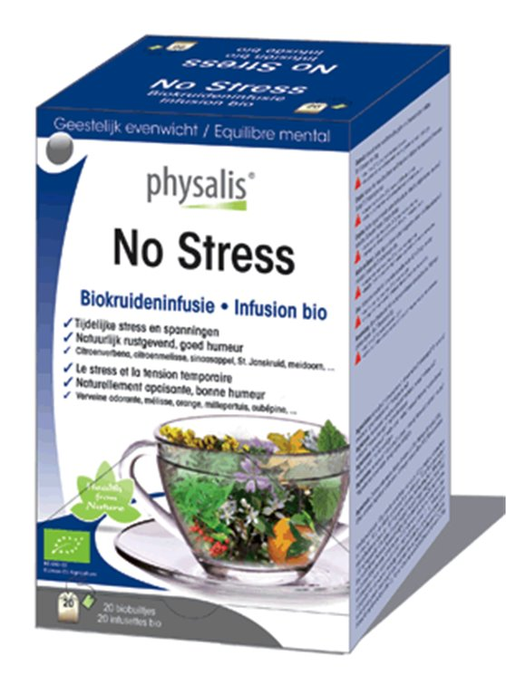 No stress infusión bio, 30 gr
