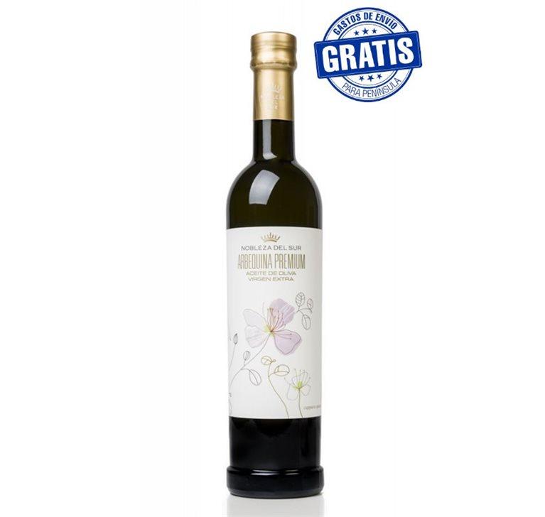 Nobleza del Sur, Arbequina Premium. 250 ml. Caja de 15 uds., 1 ud