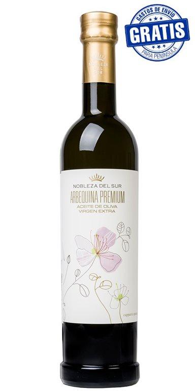Nobleza del Sur, Arbequina Premium. 500 ml. Caja de 12 uds.