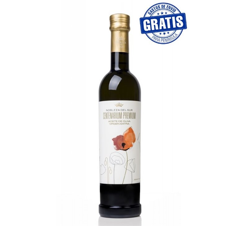 Nobleza del Sur, Centenarium Premium. Picual  250 ml. Caja de 15 uds.