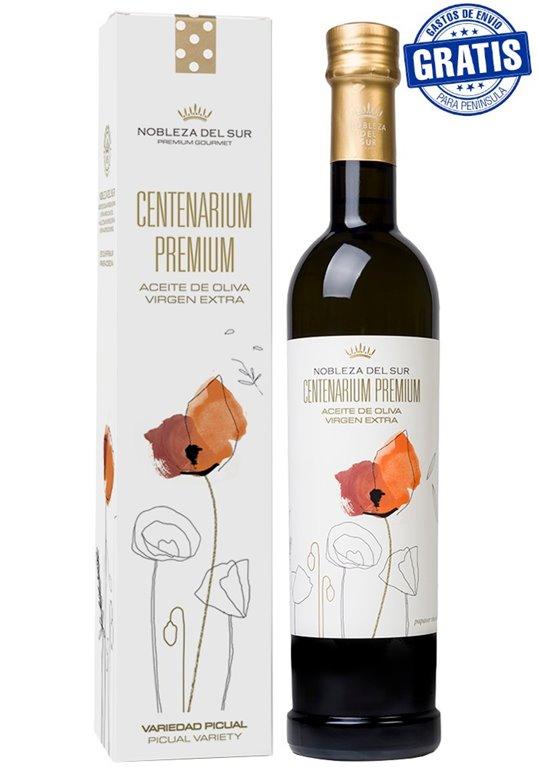 Nobleza del Sur, Centenarium Premium Picual. Caja de 6 estuches x 500 ml.