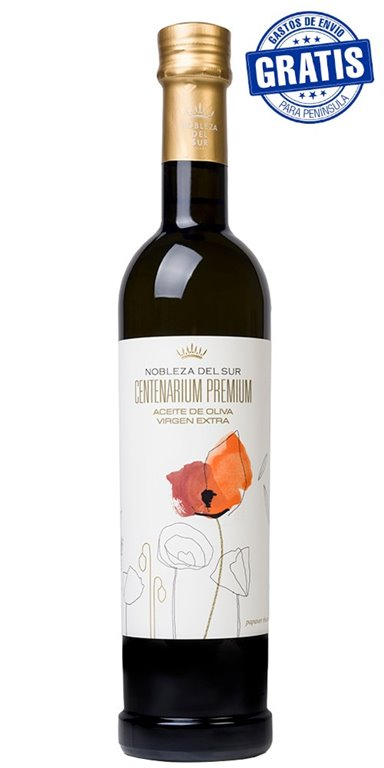 Nobleza del Sur, Centenarium Premium Picual. Caja de 6 unidades x 500 ml.